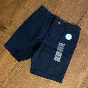Carter's Little Boys' Flat Front Shorts- Navy B- 5